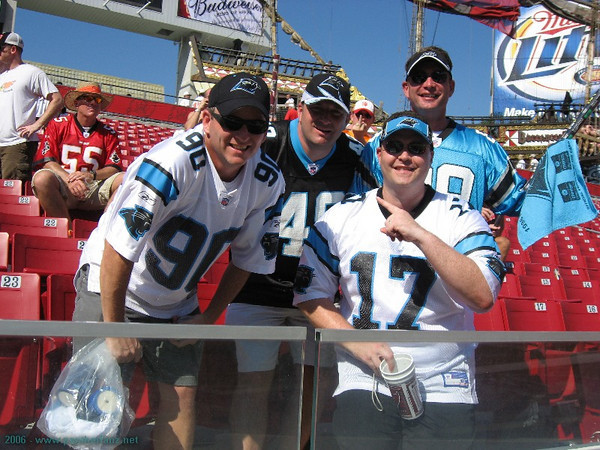 Panthers @ Bucs September 24th 2006