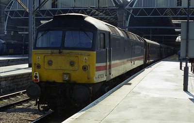 On the rear of the train was 47826, which would later work the return 1Z48 1902 from Kings Cross to Darlington (04/03/2006)