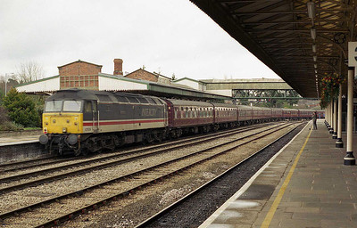 47826 'Springburn' brings up the rear of 1Z68 as the train heads south (26/02/2006)