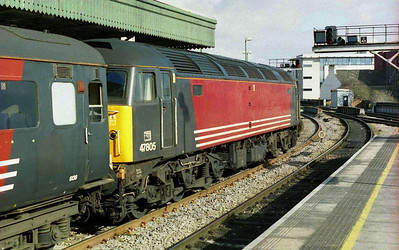 47805 was on the rear of 1Z69, and would later work the return 1Z84 back to Wigan after the match (26/02/2006)