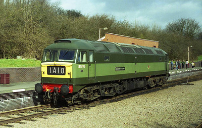 47117 'Sparrow Hawk' runs round at Leciester North after working 1A10 1050 from Loughborough during the Great Central Railway's '1960s' Gala (26/03/2006)