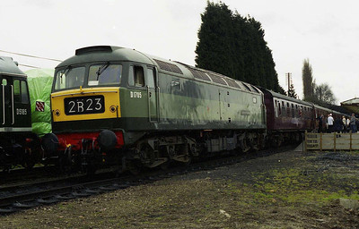 47117 is seen again back at Loughborough Central with 2B23 1415 from Leicester North (26/03/2006)
