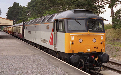 'Thomas and the wrong-coloured engine' isn't a story that you'll find in the bookshops, but buy me a pint and I might tell it to you sometime... Whilst the use of the Freightliner grey-liveried machine might have raised a few eyebrows, it's worth remember