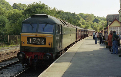 47192 waits to depart Froghall with 2Z04 1109 to Leekbrook Junction (08/09/2006)