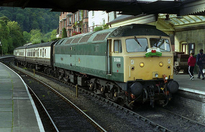 47449 is pictured again on arrival back at Llangollen with the 1320 from Carrog. The loco then worked a further round trip at 1500 (08/10/2006)