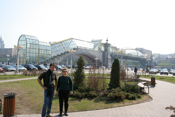 Patrick In Moscow 2006