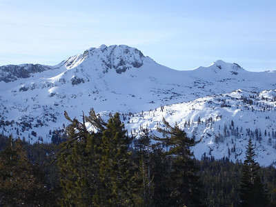 Round Top and Fourth of July Peak.