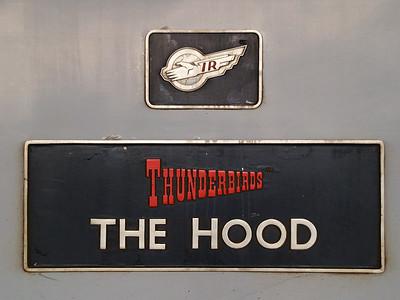 57312 'The Hood' nameplate.