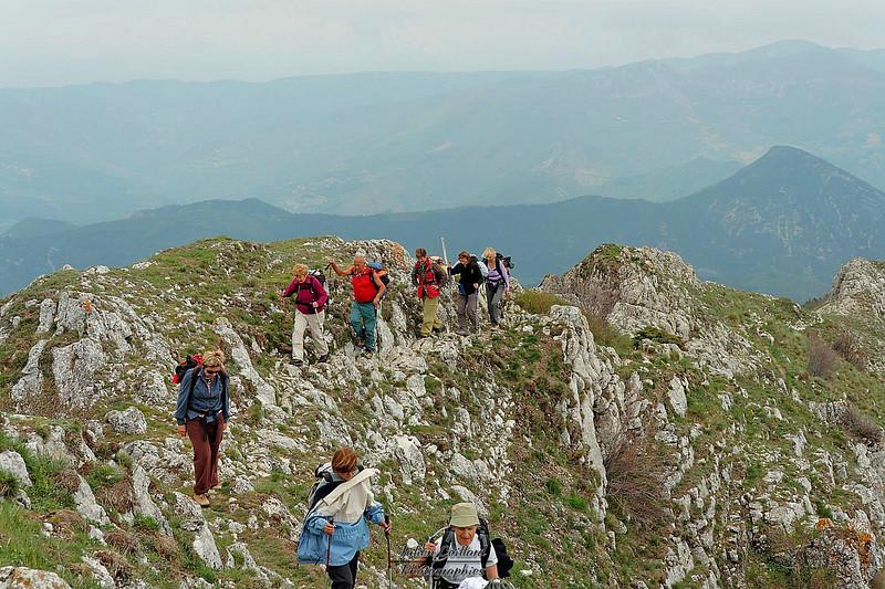Grand Delmas - A l'approche du sommet