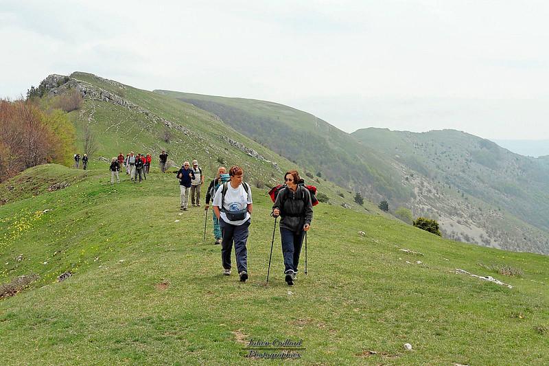 Grand Delmas - Les crêtes de la Montagne de Couspeau