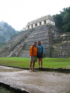 A rainy day in Palenque