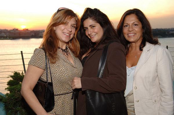 Ursula DelJanin ,Lourdes Castelleon, Maria DeLeon