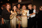 (L-R)_____, Allison Rockefeller, Somers Farkas, Muffie Potter Aston, Adrienne Vitadini & Cynthia Lufkin in rear foreground at Doubles Club for Purses & Personalities Luncheon to Benefit Madison Square Boys & Girls Club