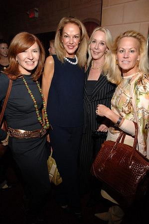 Nicole Miller, Cece Cord, Barbara Bancroft & Muffie Potter Aston