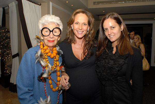 """<a href=""""http://www.panachemag.com/9_05/TheBuzz/TheCollector/Apfel.asp"""">Iris Apfel</a>, Clo Cohen & Eva Dillon"""