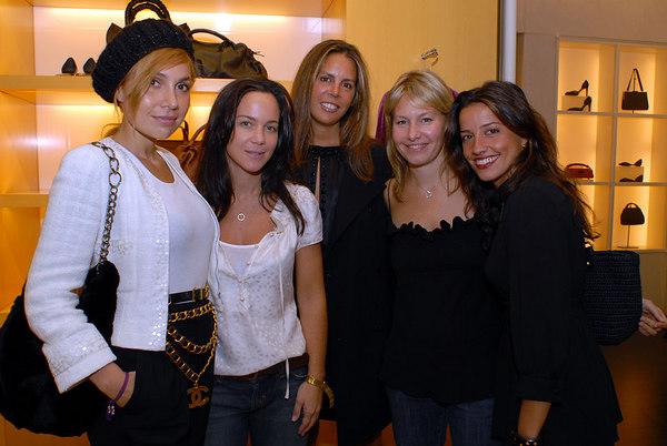 Fabiola Beracasa, Tracy Paul, Anne Waterman, Susie Block Casdin & Shoshanna Lonstein Gruss