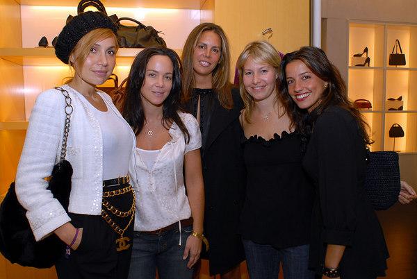 Fabiola Beracasa, Tracy Paul, Anne Waterman, Susie Block Casdin & Soshanna Gruss
