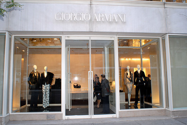 Giorgio Armani Store, 760 Madison Avenue, New York City