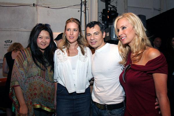 Susan Shin, Christine Cachot, Gustavo Arango & Tracy Stern