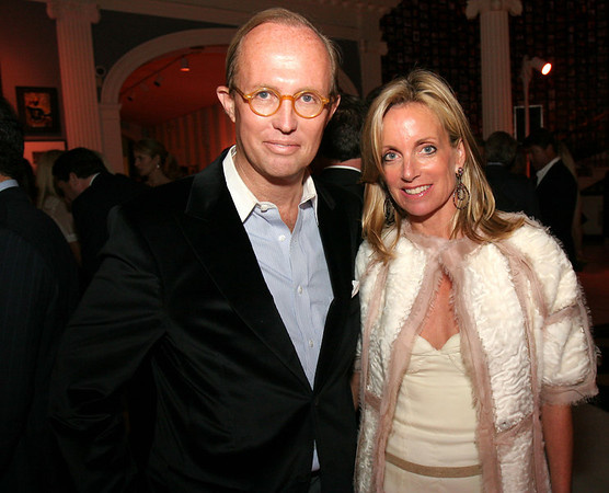 """Mark Gilbertson & Rachel Hovnanian at The Committee for the Museum of the City of New York's """"New York After Dark"""""""