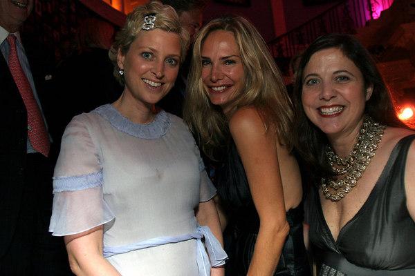 Cynthia Lufkin, Valesa Guerrand Hermes and Kristina Stewart Ward