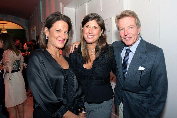 Julie Dannenberg, Cricket Burns and Dan Lufkin