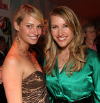 "Christy Hinze & Allison Brokaw at The Committee for the Museum of the City of New York's ""New York After Dark"""