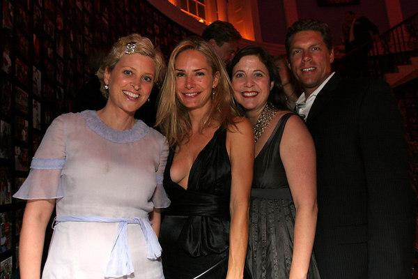 Cynthia Lufkin, Valesca Guerrand Hermes, Kristina Stewart Ward & Arthur Ward