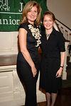 Arianna Huffington & Trisha Duval, NYJL President