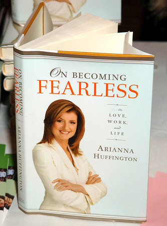 New York Junior League hosts Arianna Huffington on Fearless Book Tour