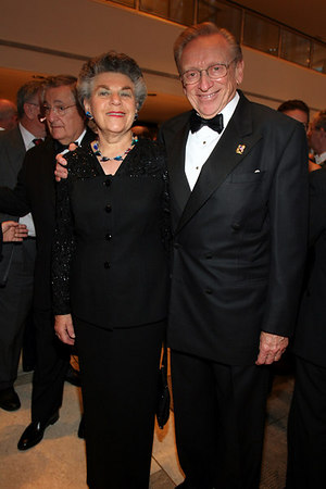 Mr. & Mrs. Larry Silverstein