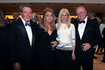 Dan Lufkin, Eleanora Kennedy, Cynthia Lufkin and Michael Kennedy at Lincoln Center for New York Philharmonic Opening Night Gala, a celebration of the New York Philharmonic's 165th Season