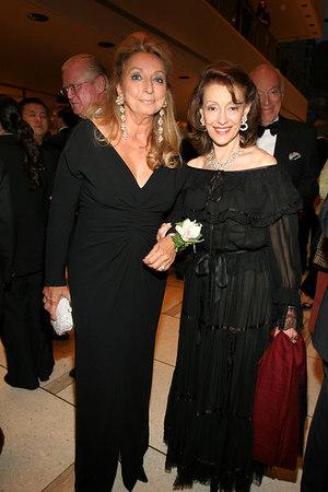 Eleanora Kennedy & Evelyn Lauder
