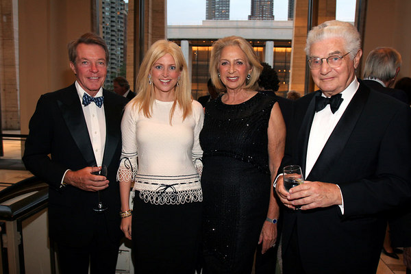 Dan Lufkin, Cynthia Lufkin, Daisy Soros, Paul Soros