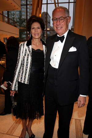 Coco Kopelman with her husband Arie L. Kopelman