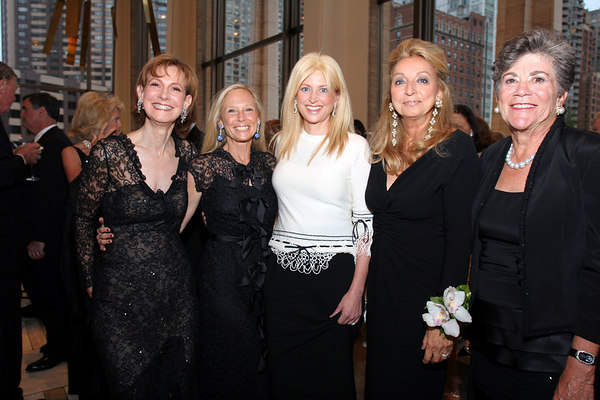 "Lally Graham Weynouth, Karen LeFrak, Cynthia Lufkin, Eleanora Kennedy & <a href=""http://www.manhattan.smugmug.com/gallery/1354210"">Sheila Labrecque</a> at Lincoln Center for New York Philharmonic Opening Night Gala, a celebration of the New York Philharmonic's 165th Season"