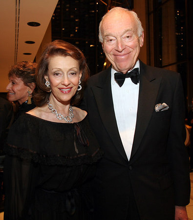 Evelyn Lauder & Leonard Lauder at Lincoln Center for New York Philharmonic Opening Night Gala, a celebration of the New York Philharmonic's 165th Season
