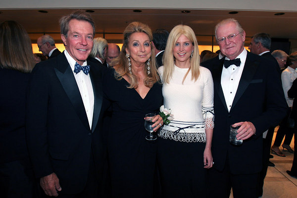 Dan Lufkin, Eleanora Kennedy, Cynthia Lufkin and Michael Kennedy