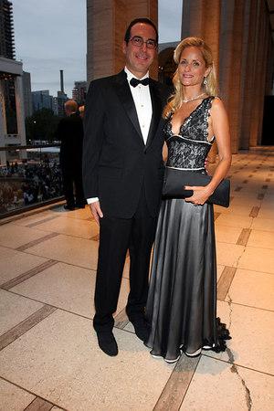 Heather and Steven T. Mnuchin