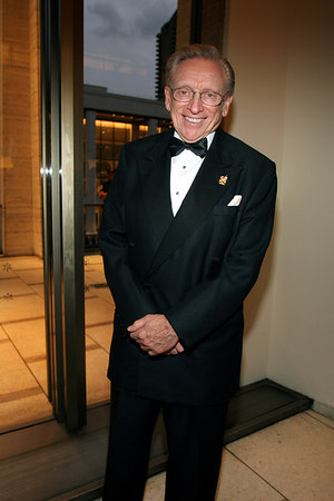 Larry Silverstein at Lincoln Center for New York Philharmonic Opening Night Gala, a celebration of the New York Philharmonic's 165th Season
