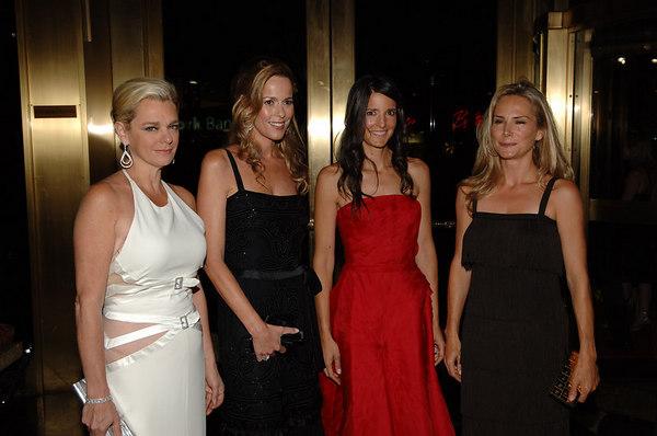 Debbie Bancroft, Julia Koch, ? & Valesca Guerrand Hermes