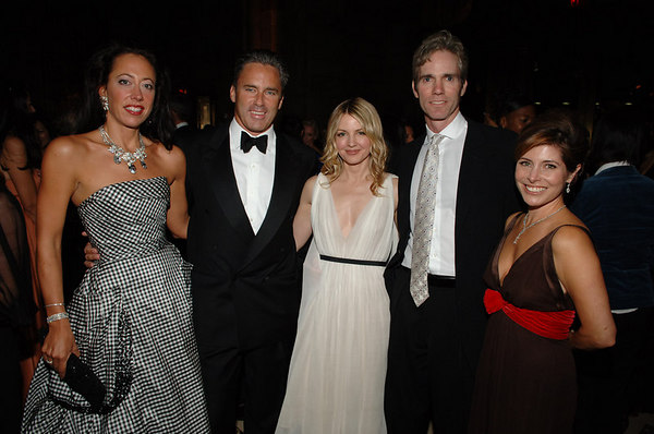 Tatiana Platt, Campion Platt, Kelly Behun Sugarman, Jay Sugarman & Donya Bommer at Cipriani for the New Yorkers For Children Annual Fall Gala