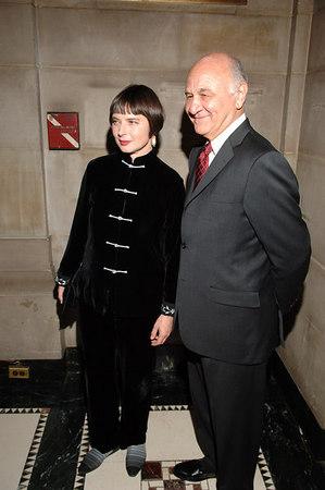 Nicholas Scoppetta with Isabella Rossellini