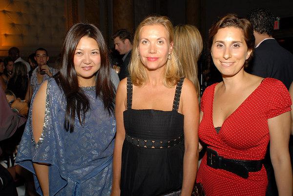 Susan Shin, Christina Wood and Laura Rubin
