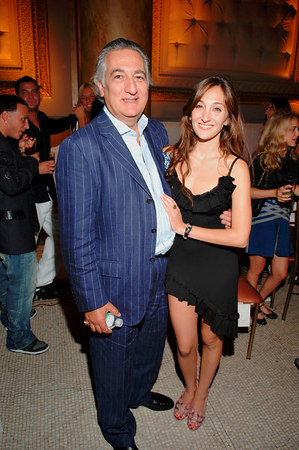 Nicole Romano and her father