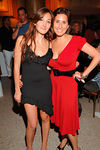 Designer Nicole Romano and Laura Rubin following Nicole Romano's 2007 Spring /Summer Collection Fashion Show at Capitale on the Bowery on New York's Lower East Side