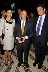 Ronay Menschel (Chairman of the Board, Phipps Houses), Mayor Michael Bloomberg and Adam Weinstein (President and CEO, The Phipps Houses GroupChair, Phipps Community Development Corp.) at Cipriani for the Phipps Houses Annual Community Builder Awards Gala