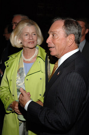 Diane Coffey, NYC Mayor Mike Bloomberg