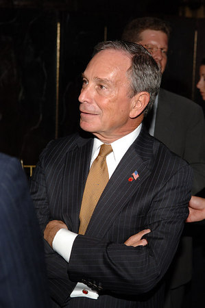 NYC Mayor Mike Bloomberg
