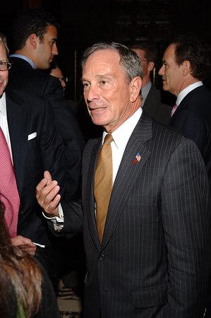 NYC Mayor Mike Bloomberg